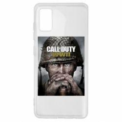 Чохол для Samsung A41 Call of Duty WW2 poster
