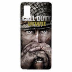 Чехол для Samsung A41 Call of Duty WWII
