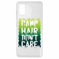 Чехол для Samsung A41 Camp hair don't care