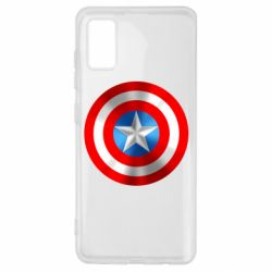 Чехол для Samsung A41 Captain America 3D Shield