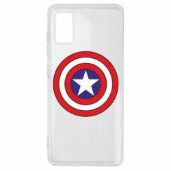 Чехол для Samsung A41 Captain America