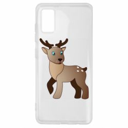 Чехол для Samsung A41 Cartoon deer