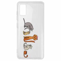 Чехол для Samsung A41 Cat family