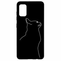 Чохол для Samsung A41 Cat line