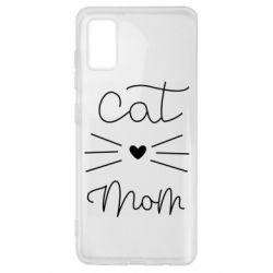 Чохол для Samsung A41 Cat mom