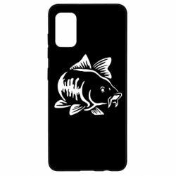 Чохол для Samsung A41 Catfish