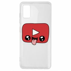 Чохол для Samsung A41 Cheerful YouTube