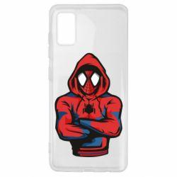 Чохол для Samsung A41 Людина павук в толстовці
