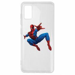 Чохол для Samsung A41 Людина павук