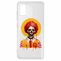 Чохол для Samsung A41 Clown McDonald's skeleton