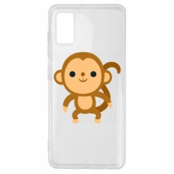 Чохол для Samsung A41 Colored monkey