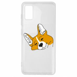 Чохол для Samsung A41 Corgi is dozing