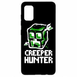 Чехол для Samsung A41 Creeper Hunter