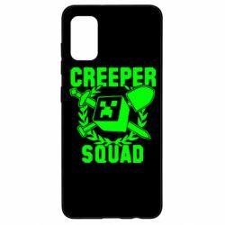 Чохол для Samsung A41 Creeper Squad