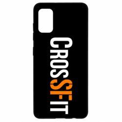 Чохол для Samsung A41 CrossFit SF