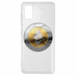Чехол для Samsung A41 Cryptomoneta