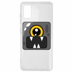 Чохол для Samsung A41 Cute black boss