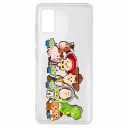Чохол для Samsung A41 Cute characters toy story