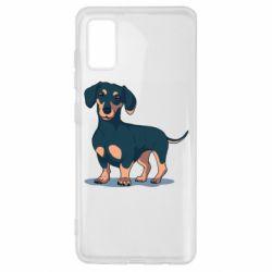Чехол для Samsung A41 Cute dachshund
