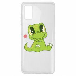 Чохол для Samsung A41 Cute dinosaur