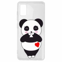 Чохол для Samsung A41 Cute panda
