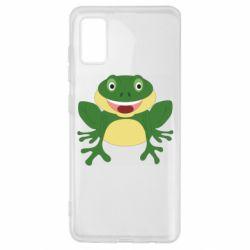 Чехол для Samsung A41 Cute toad