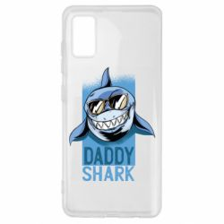 Чехол для Samsung A41 Daddy shark
