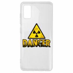 Чохол для Samsung A41 Danger icon