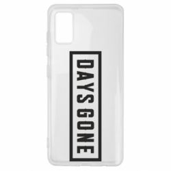 Чохол для Samsung A41 Days Gone color logo