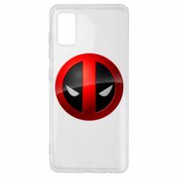 Чехол для Samsung A41 Deadpool Logo