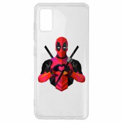 Чохол для Samsung A41 Deadpool Love