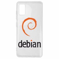 Чехол для Samsung A41 Debian
