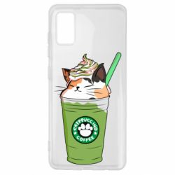 Чехол для Samsung A41 Delicious cat