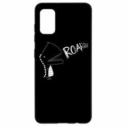 Чохол для Samsung A41 Dinosaur roar
