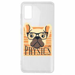 Чехол для Samsung A41 Dog Physicist