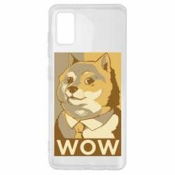 Чохол для Samsung A41 Doge wow meme