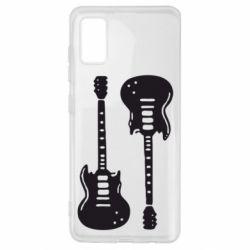 Чохол для Samsung A41 Дві гітари