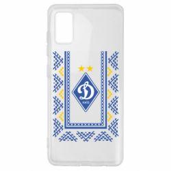 Чехол для Samsung A41 Dynamo logo and ornament