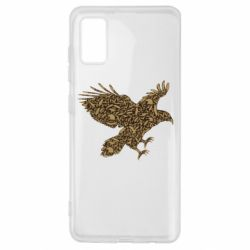 Чехол для Samsung A41 Eagle feather