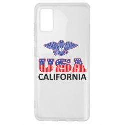 Чехол для Samsung A41 Eagle USA