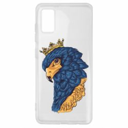 Чехол для Samsung A41 Eagle with a crown on its head