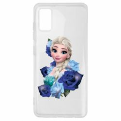 Чохол для Samsung A41 Elsa and roses