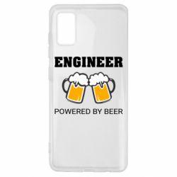 Чохол для Samsung A41 Engineer Powered By Beer