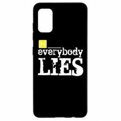 Чехол для Samsung A41 Everybody LIES House