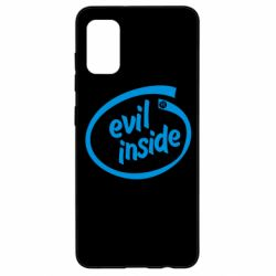 Чехол для Samsung A41 Evil Inside