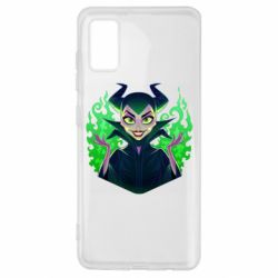 Чехол для Samsung A41 Evil Maleficent