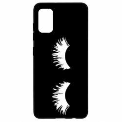 Чохол для Samsung A41 Eyelashes