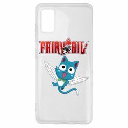 Чохол для Samsung A41 Fairy tail Happy