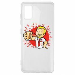 Чохол для Samsung A41 Fallout  boy blood