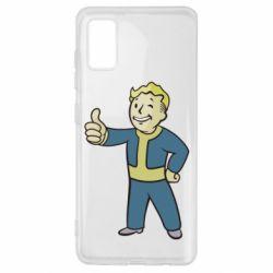 Чехол для Samsung A41 Fallout Boy